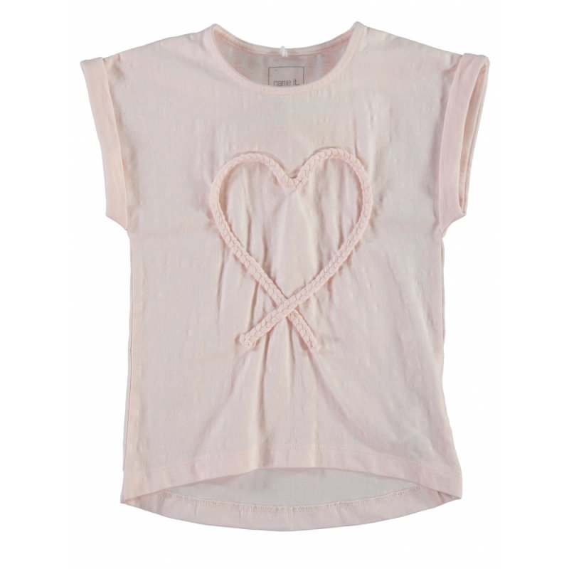 90b65660 Name It Top - MINI NITGALUNA TOP Pink Billigt online pris | Heaven4kids.dk
