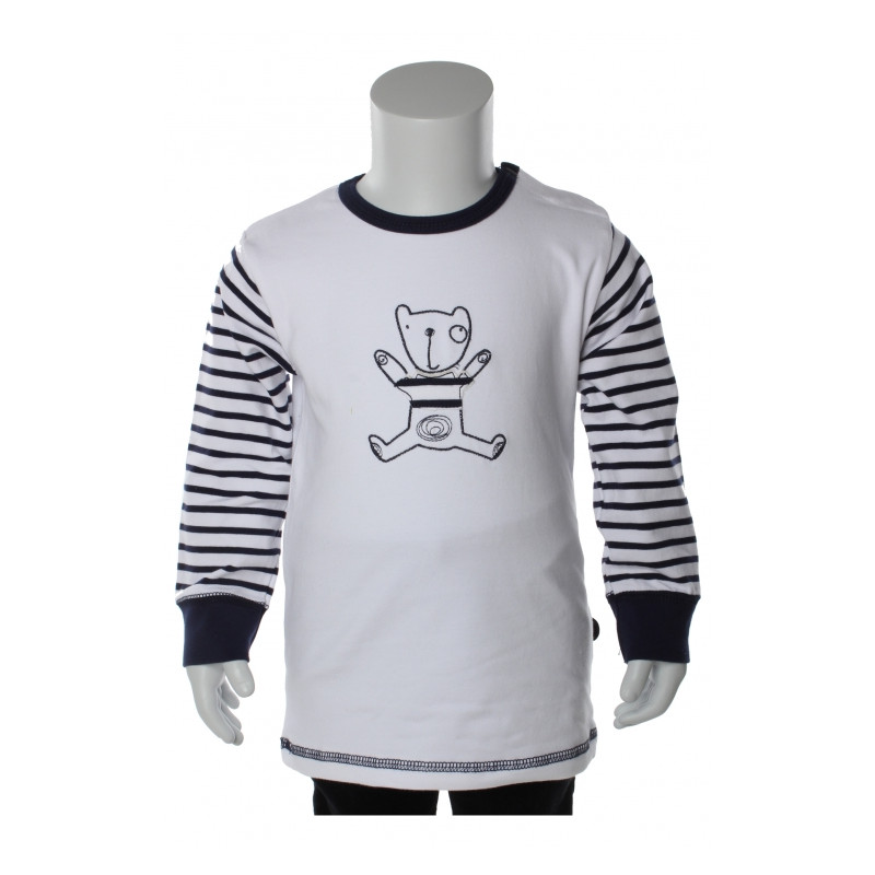 bamse med t-shirt